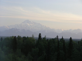 Denali From Talkeetna Alaskan Lodge Room