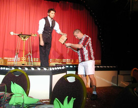 Participating In the Kupanaha Magic Show Dinner
