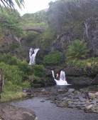 Seven Sacred Pools in Oheo Gulch