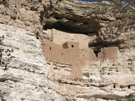 Montezuma Castle, AZ - Life In a 5-Story Cliff Dwelling