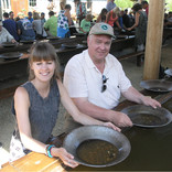 Panning for Gold at Gold Dredge 8