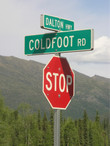 Dalton Hwy. / Coldfoot Rd. Junction