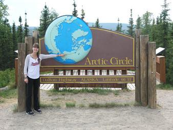 Arctic Circle on Dalton Highway