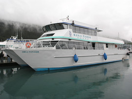Orca Voyager Tour Boat - Kenai Fjords Tours