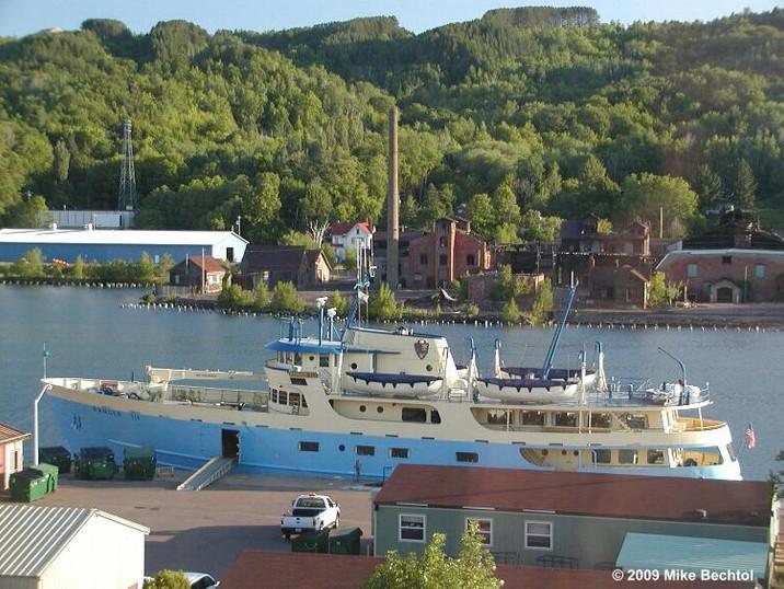 Houghton - Ferry to Isle Royale