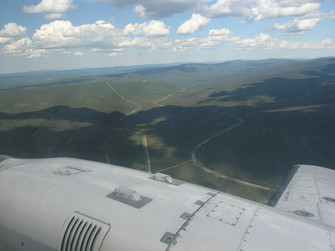 Flight From Fairbanks to Coldfoot