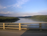 Crossing Yukon River