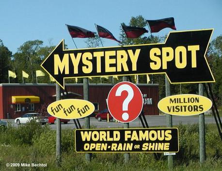 St. Ignace - Mystery Spot