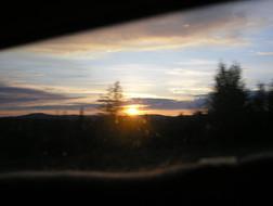 Sunset... and Sunrise at 2:30 AM