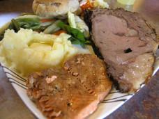 Dinner at Fox Island