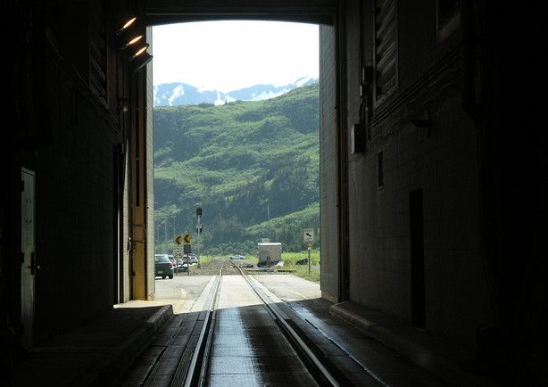 Anton Anderson Memorial Tunnel West Entrance