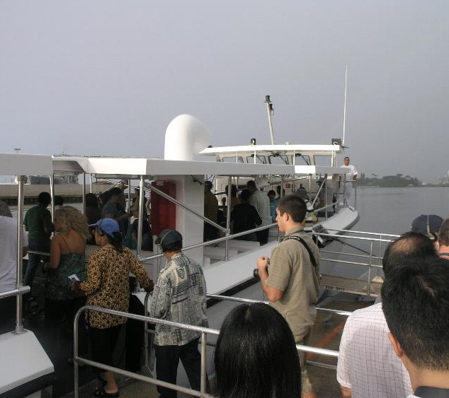 Ferry to Memorial