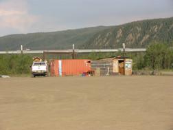 Alaska Pipeline by Yukon River