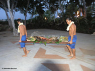 """Kalua Pig at """"Legends of the Pacific"""" Luau"""