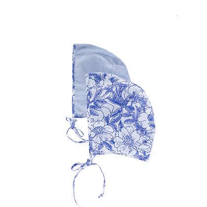 True Blue Baby Bonnet