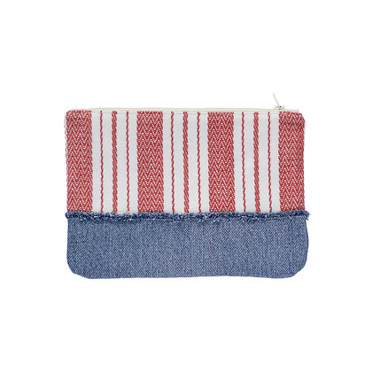 Clementine Zippered Pouch