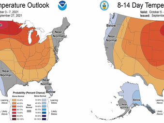 This Week's TPI Weather Talk - Short-term Outlook: Severe Heat West / Variable East