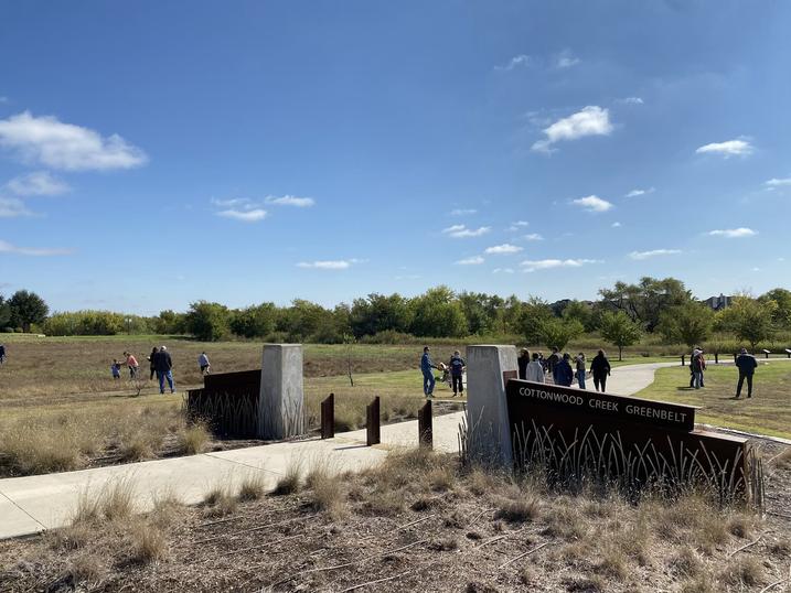2020's Buffalo Stomp took place at the Cottonwood Creek Greenbelt.
