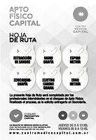 APTO FÍSICO CAPITAL HOJA DE RUTA