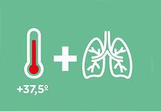 Fiebre y Problemas respiratorios coronav