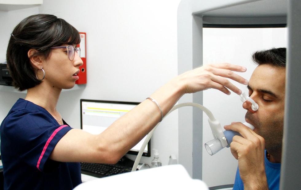Espirometría en el Centro Médico Capital La Plata