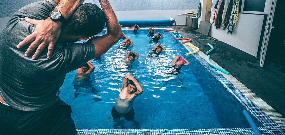 Apto Físico Médico para nadadores
