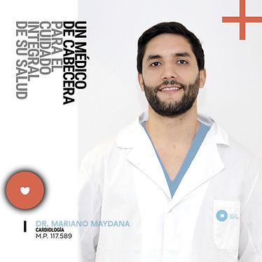 Dr. Mariano Maydana responsable de los Chequeos Apto Físico en el Centro Médico Capital de La Plata