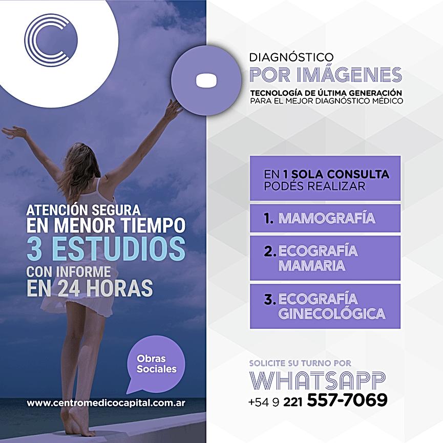 Mamografía, Ecografía Mamaria y Ecografí