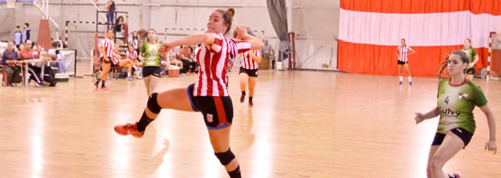 Equipo femenino de Handball del Club Estudiantes de La Plata