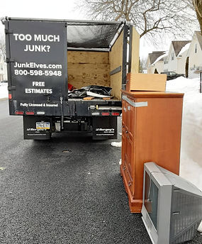 Junk Elves Curbside Pickup Bucks County PA
