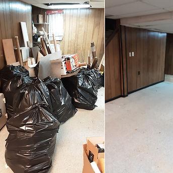 Bucks County PA Basement Cleanout Junk Elves