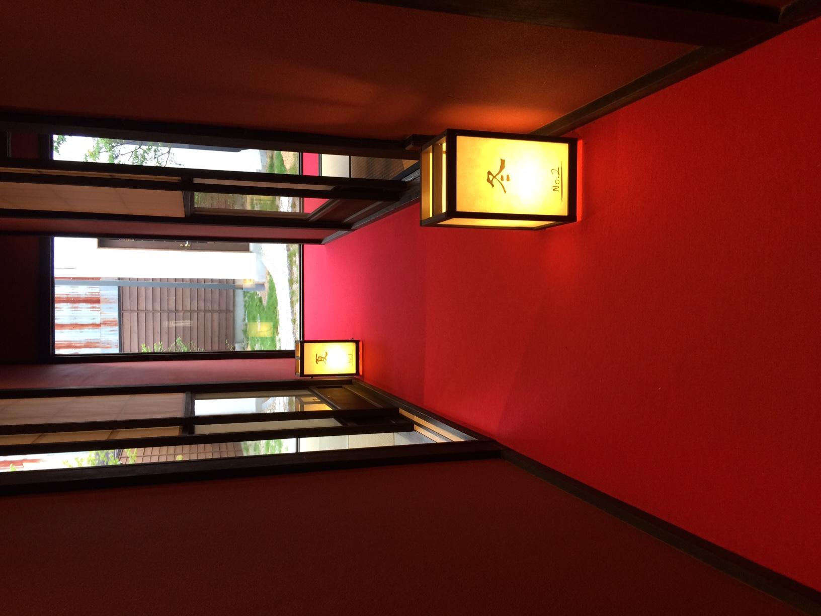 【夏】 客室内廊下