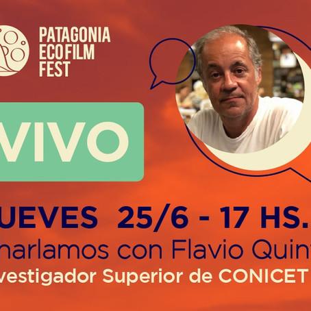 Flavio Quintana, ciencia, arte, ambiente y otras turbas.