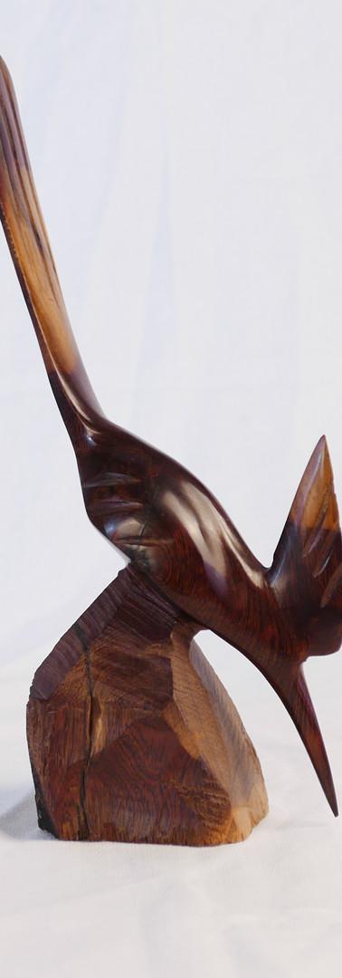 Handcrafted Wooden Bird