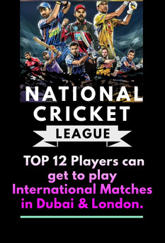 National Cricket League Opportunity
