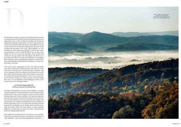 Beitrag The Wild Side Odenwald im UBI BENE Magazin