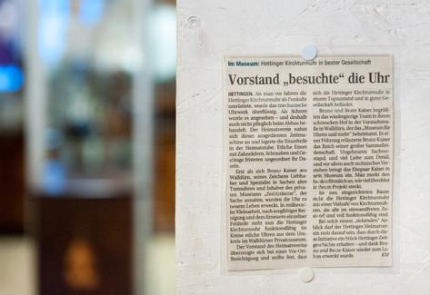 Museum Zeit(t)räume Walldürn Odenwald