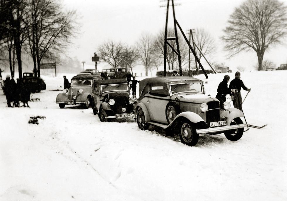 Historische Fahrzeuge – Wald-Michelbach, ca. 1930