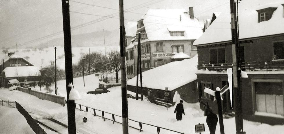 Birkenau – Bahnhofstraße, 1940