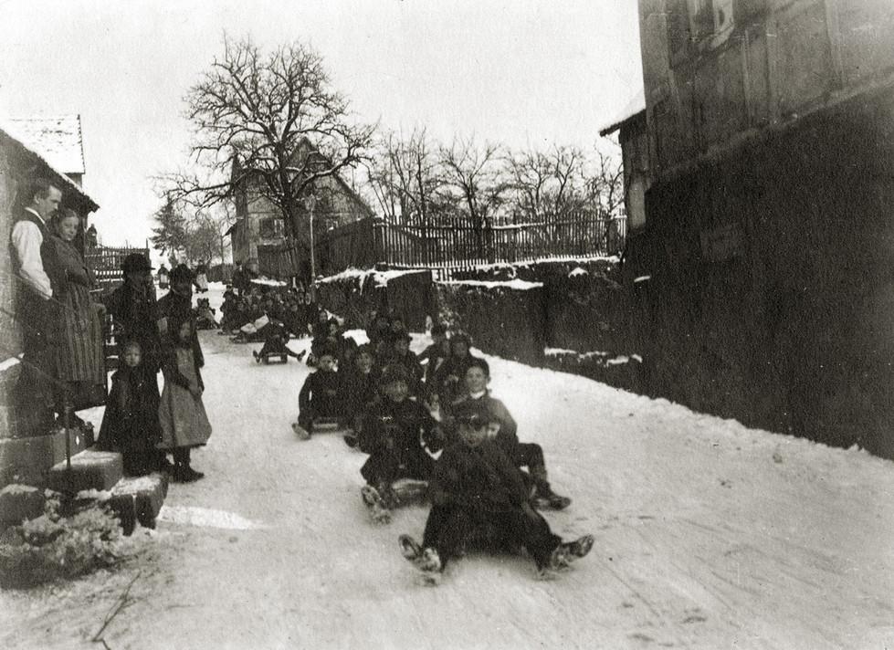 Bad König – Mainstraße im heutigen Bad König,1908