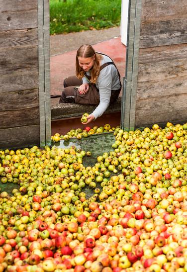 Luisa, Auszubildende Landwirtin