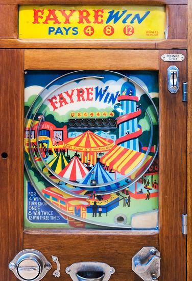 Alter Spielautomat