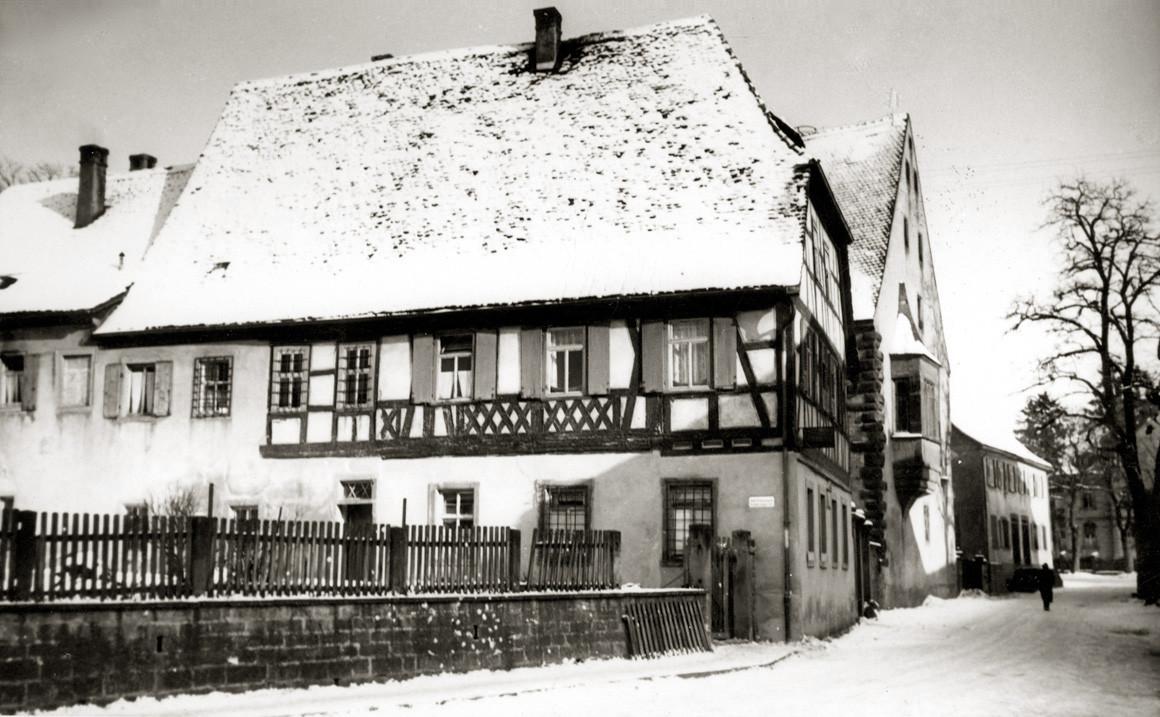 Trunzer Haus mit Steinernem Bau, Buchen 1970