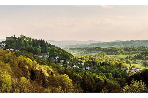 Maxi-Postkarte | Burg Lindenfels