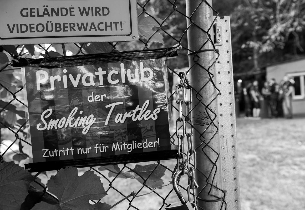 Smoking Turtles, Gersprenztal im Odenwald
