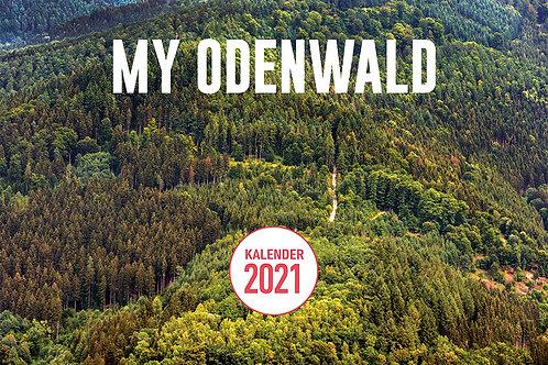 MY ODENWALD KALENDER 2021 im Format A3 auf Naturpapier