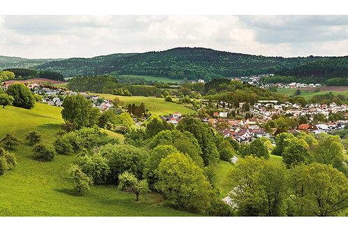 Maxi-Postkarte | Wald-Michelbach | Kreidacher Höhe