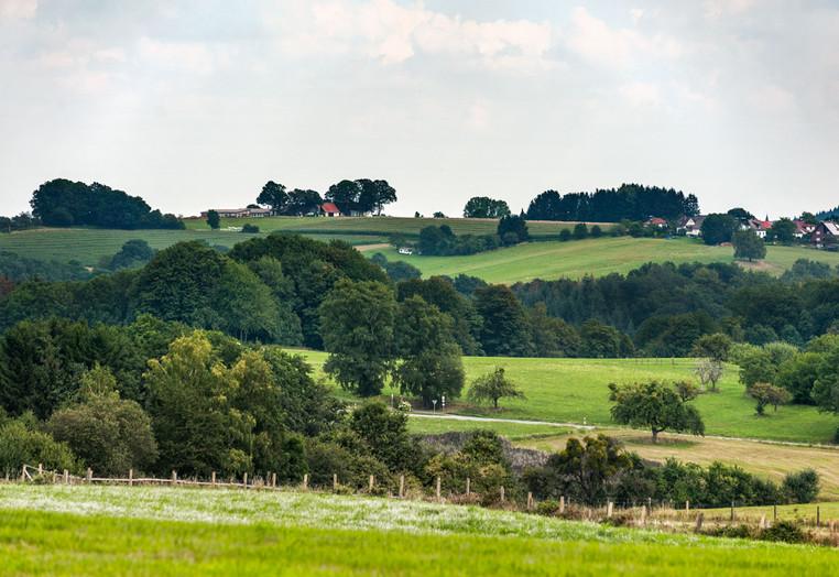 Landschaft und Umgebung in Abtsteinach im Odenwald