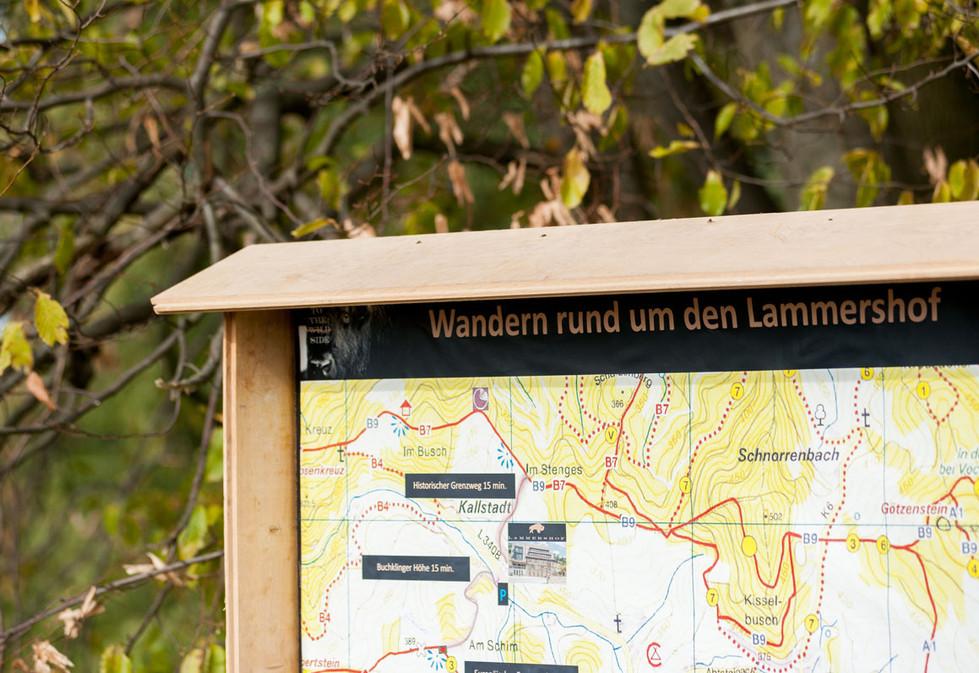 Wandern rund um den Lammershof