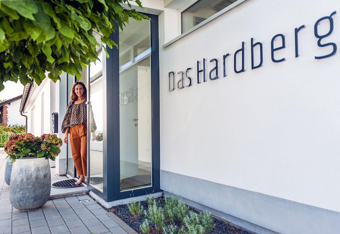 Das Hardberg – Das Gästehaus Charme, Stil und Persönlichkeitmit